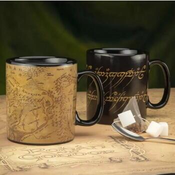 Lord Of The Rings Heat Change Mug - Det ultimative krus til fans af Ringenes Herre!