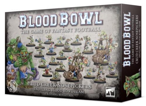 "De ""Mægtige"" Crud Creek Nosepickers har sprængt barriererne, og er klar til at give snotlings deres tid i Blood Bowl-rampelyset!"