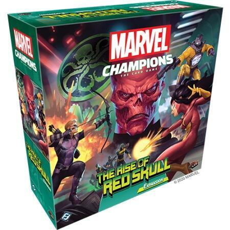 Marvel Champions: The Rise of Red Skull - Indeholder to nye helte og hele fem nye skurke!