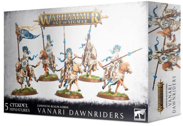 Vanari Dawnriders er chokkavelri for Lumineth Realm-lords i Warhammer Age of Sigmar