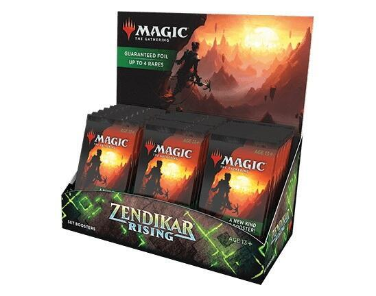 Zendikar Rising Set Booster Display (30 Packs) giver en ny type Magic: The Gathering booster der ikke er skabt til draft