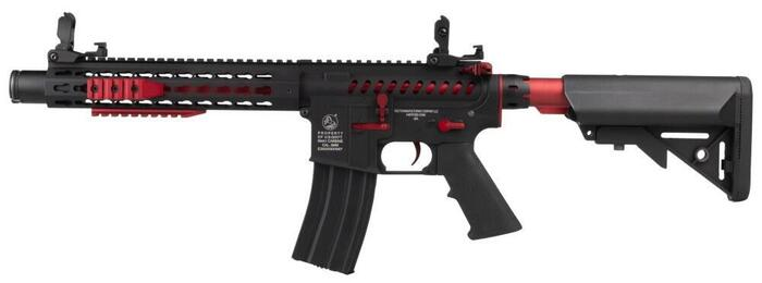 Fed airsoft riffel Colt M4 blast i en red fox edition