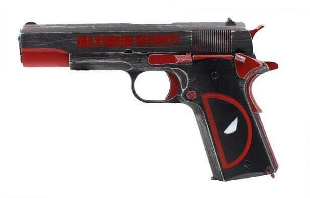 airsoft 1911 deadpool pistol