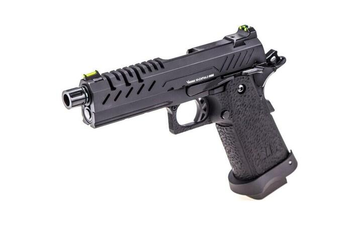 Vorsk airsoft hi-capa 4.3 som er blacked out (fuld sort)