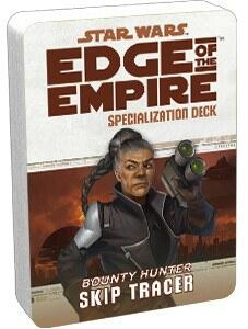 Skip Tracer Specialization Deck til Star Wars: Edge of the Empire rollespillet, er en nyttig ressurse for disse dusørjægere