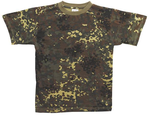 T-shirt flecktarn camo. str. XL