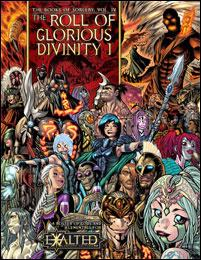 Books of Sorcery Vol.4: The Roll of Glorious Divinity 1:Gods & E