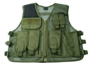 Kampvest,Tactical , Green (RECON), one size