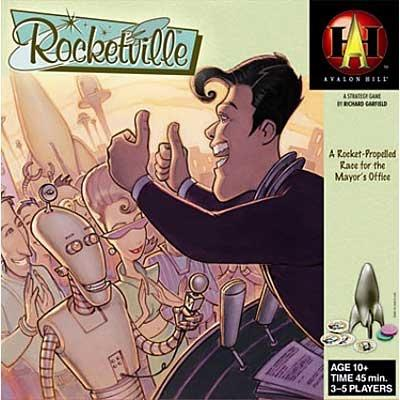 Rocketville Boardgame