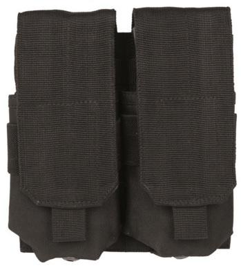 Double M4/M16 Mag Pouch BK