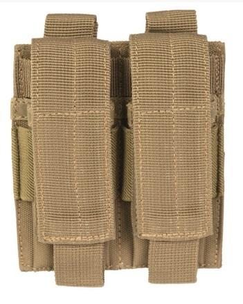 Double Pistol Magazine Pouch Coyote