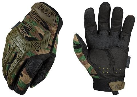 Gloves, M-pact, Woodland, Size XXL