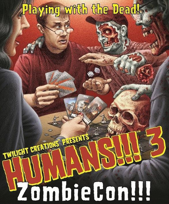 Humans!!! 3: ZombieCon expansion