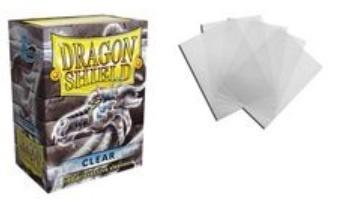 Dragon Shield - Klar - 100 stk