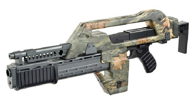 M41A Pulse Rifle (Alien), Jungle camo