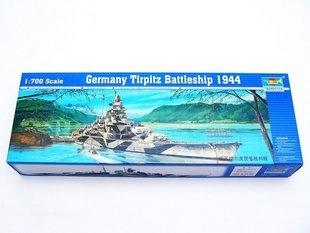 1/700 german tirplitz Battleship 1944