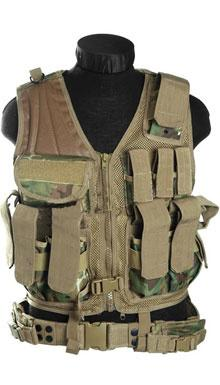 USMC Tactical Vest Arid Woodland