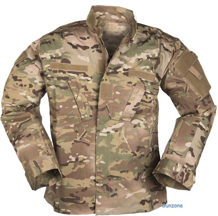 US Felt Jakke, Multicam XL