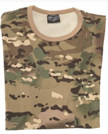T-shirt Multicam - Str. S