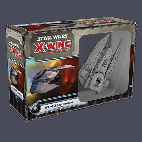Star Wars: X-Wing – VT-49 Decimator expansion pack