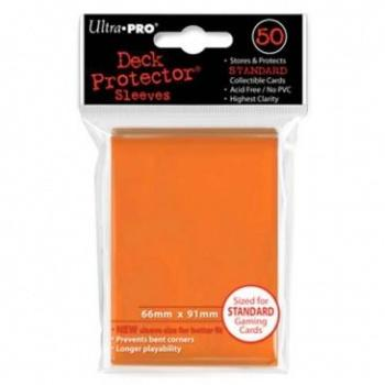 UP - Standard Sleeves - Orange (50 Sleeves)
