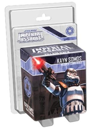 Star Wars: Imperial Assault - Kayn Somos, Trooper Commander Vill