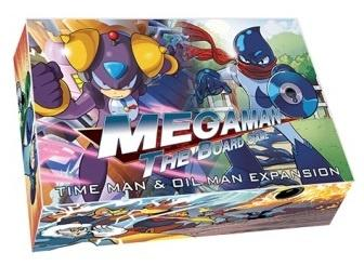 Mega Man Board Game - Time Man and Oil Man Expansion