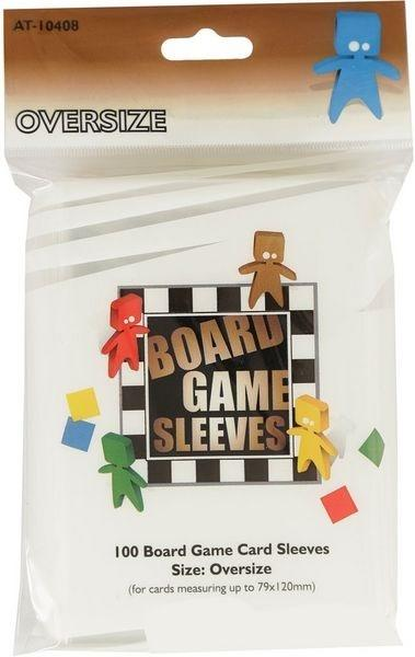 Board Games Sleeves - Oversized (79x120mm) - 100 Pcs