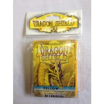 Dragon Shield Standard Sleeves - Yellow (50 Sleeves)
