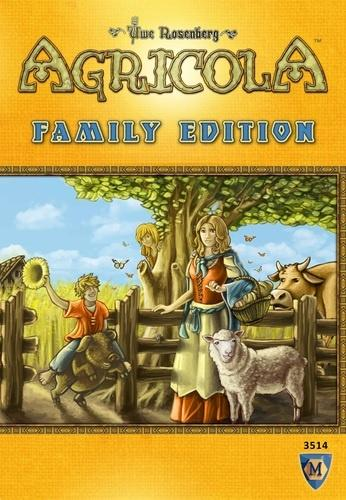 Agricola: Family Edition, Eng