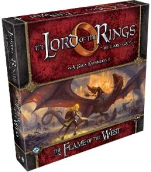 Lord of the Rings LCG: The Flame of the West Saga Expansion