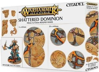 Shattered Dominion 40 & 65mm Round Bases