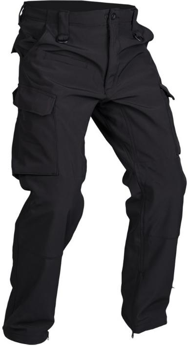 Bukser, SORT SOFTSHELL PANTS ′EXPLORER′ XL