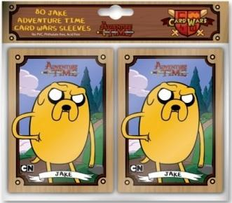 Adventure Time Card Wars - Sleeves - Jake, 80 stk