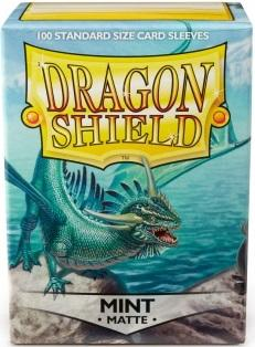 Dragon Shield Standard Sleeves - Matte Mint, 100 stk