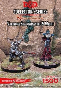 D&D Collector`s: Neverwinter - Valindra Shadowmantle & Wight
