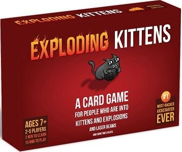Exploding Kittens, Original Edition, Eng