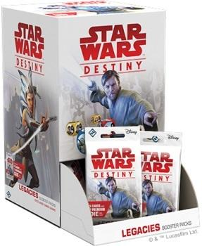 Star Wars: Destiny - Legacies Booster Display, 36 boostere