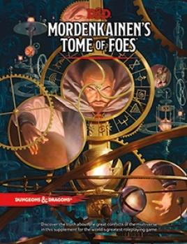 Dungeons & Dragons RPG - Mordenkainen's Tome of Foes