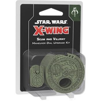 Star Wars X-Wing 2nd Edition Scum and Villainy Maneuver Dial Upg
