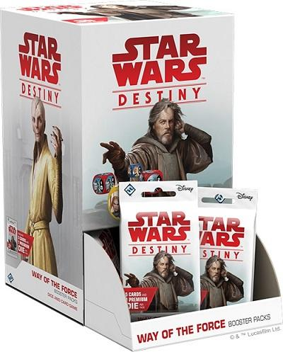 Star Wars: Destiny Way Of The Force booster Display, 36 Boosters