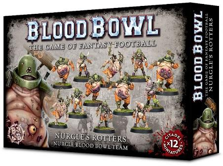Blood Bowl Nurgle's Rotters