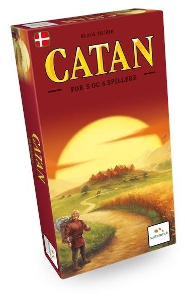 Catan, 5-6 Player Expansion, DK