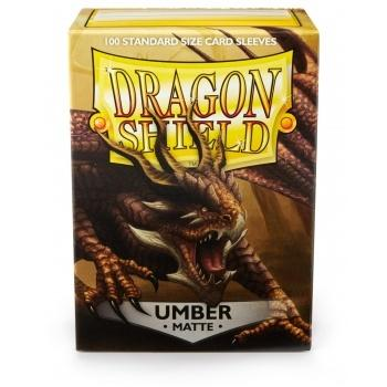 Dragon Shield Standard Sleeves - Matte Umber (100 Kort lommer)