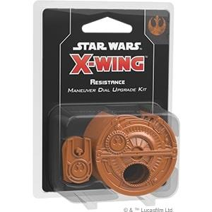 X-Wing Second Edition Resistance Maneuver Dial Upgrade Kit