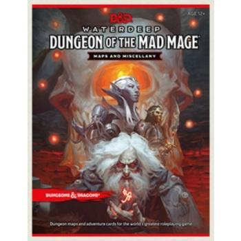 D&D RPG - Dungeon of the Mad Mage Maps and Miscellany