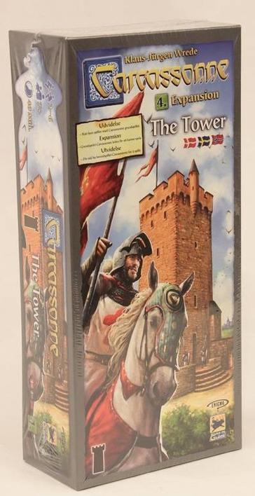 Carcassonne Expansion 4: The Tower - Dansk