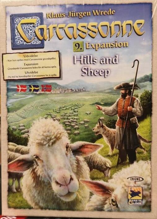 Carcassonne: Expansion 9 – Hills & Sheep (Nordic)