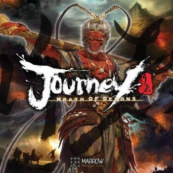 Journey Wrath of Demons er et fedt co-op miniaturer strategi brætspil
