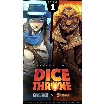 Dice Throne: Season Two - Gunslinger vs Samurai er et fritstående spil med 2 helte